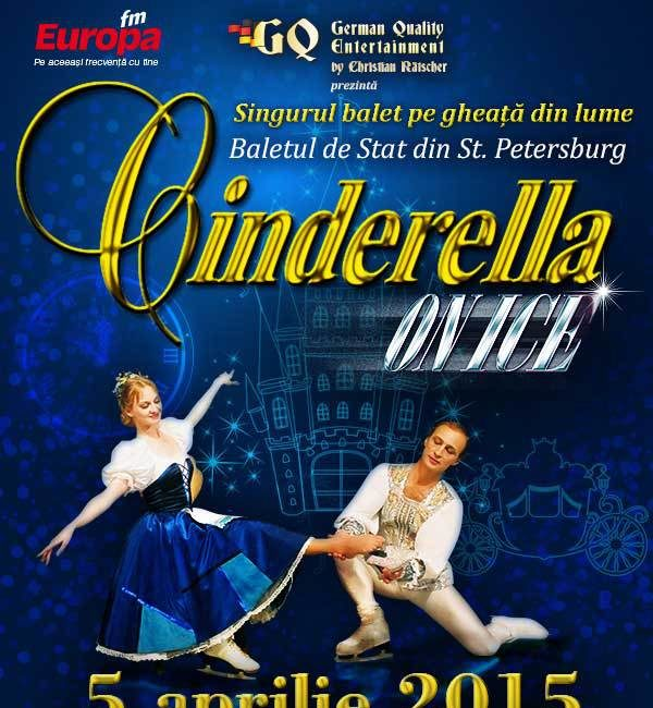 Cinderella On Ice, feerie pe gheata in 2015 (comunicat)