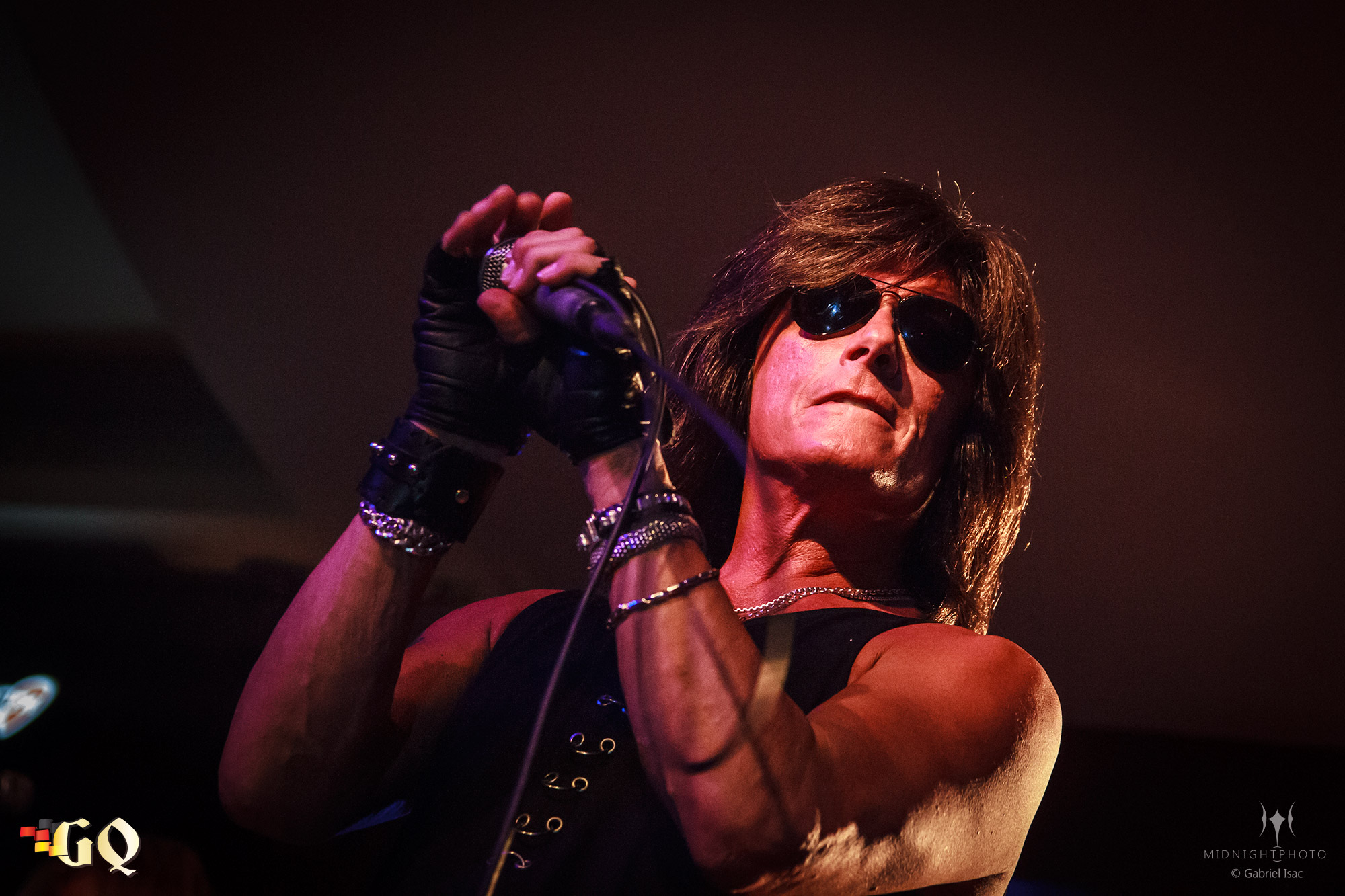 Foto Joe Lynn Turner la Hard Rock Cafe