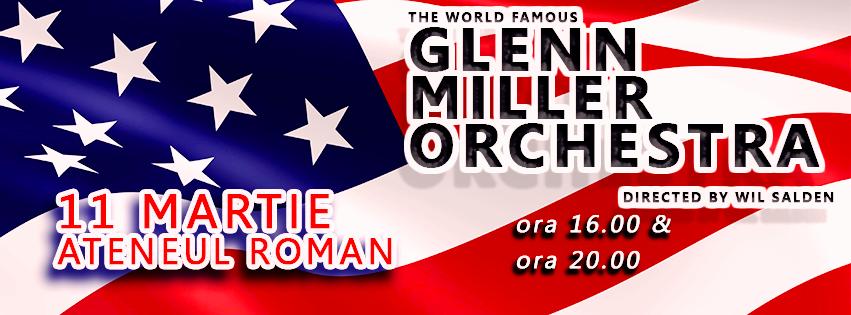 Glenn Miller Orchestra, concert premiera in Romania (comunicat)