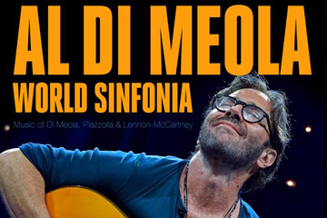 Bilete suplimentate pentru concertul AL DI MEOLA – WORLD SINFONIA