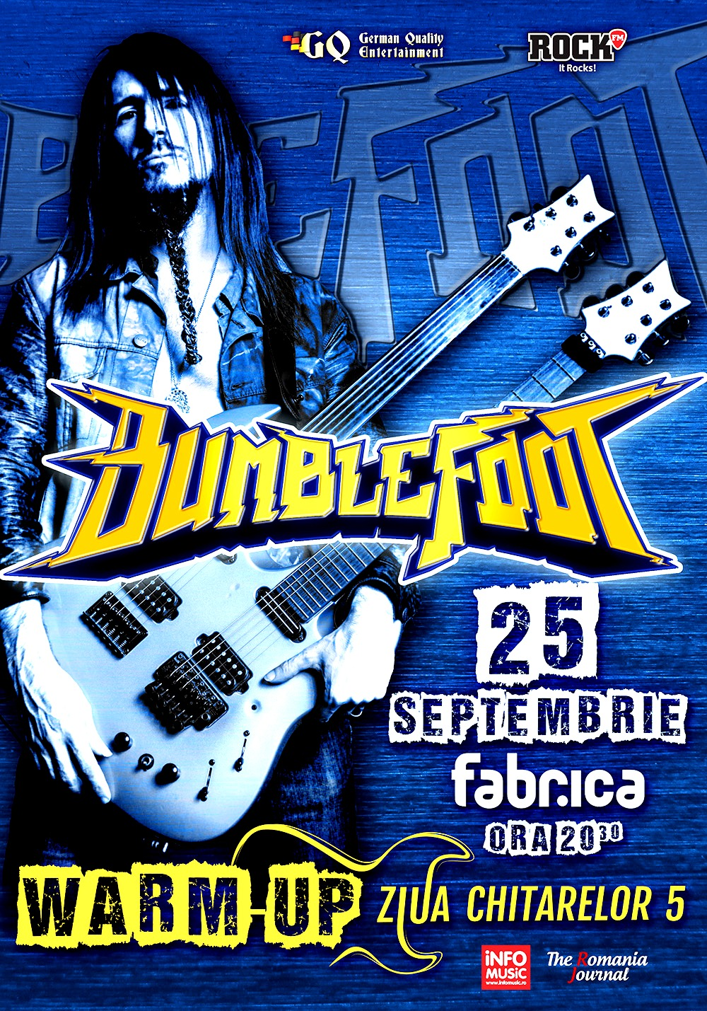 BUMBLEFOOT, WARM-UP & B-DAY PARTY – ZIUA CHITARELOR 5