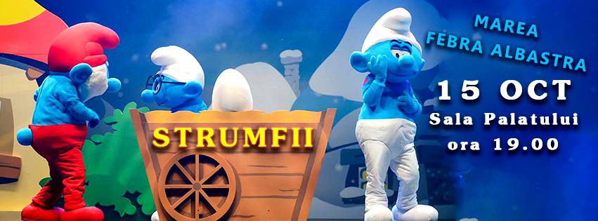 Regizor: spectacolul muzical – Smurfs Live On Stage – este garantia bunei dispozitii
