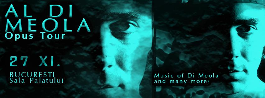 Reguli de acces si conduita pentru concertul AL DI MEOLA – Opus Tour
